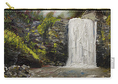 Waterfalls Of North Carolina Looking Glass Falls Carry-all Pouch