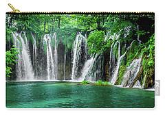 Waterfalls Panorama - Plitvice Lakes National Park Croatia Carry-all Pouch