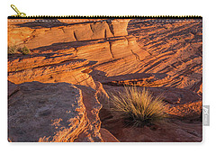 Waterhole Canyon Sunset Vista Carry-all Pouch