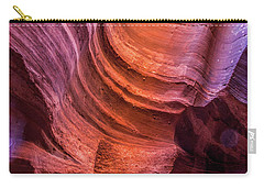 Waterholes Canyon Ribbon Candy Carry-all Pouch