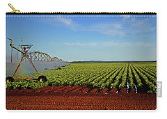 Carry-all Pouch featuring the photograph Watering The Garden 002 by George Bostian