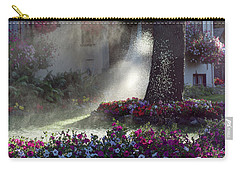 Watering The Lawn Carry-all Pouch by Keith Boone
