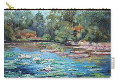 Waterlilies Pond In Tower Grove Park Carry-all Pouch