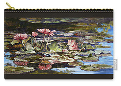Waterlilies Tower Grove Park Carry-all Pouch