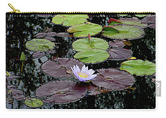 Waterlily - 001 Carry-all Pouch by Shirley Heyn