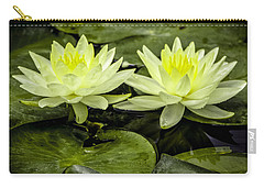 Waterlily Duet Carry-all Pouch