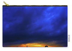 Carry-all Pouch featuring the photograph Waterloo Sunset by Mark Blauhoefer