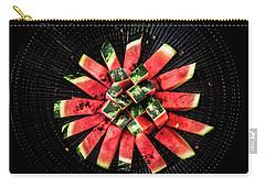 Watermelon Sun Carry-all Pouch by Edgar Laureano