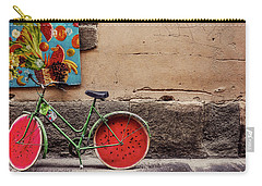 Watermelon Wheels Carry-all Pouch by Happy Home Artistry