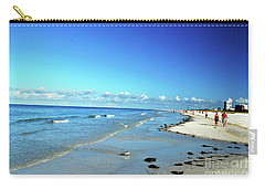 Carry-all Pouch featuring the photograph Water's Edge by Gary Wonning
