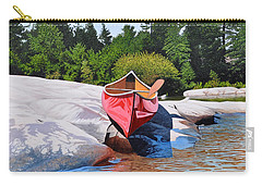 Carry-all Pouch featuring the painting Waters Edge by Kenneth M Kirsch