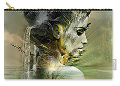 Waters Of The Whispered Sole Carry-all Pouch