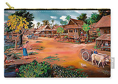 Waterside Town Community Carry-all Pouch