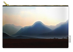 Waterton - Mountain Panorama Carry-all Pouch by Stuart Turnbull