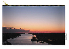 Waterway Sunset #1 Carry-all Pouch