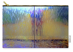 Carry-all Pouch featuring the photograph Watery Rainbow Abstract by Nareeta Martin