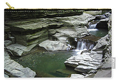 Carry-all Pouch featuring the photograph Watkins Glen State Park by John Schneider