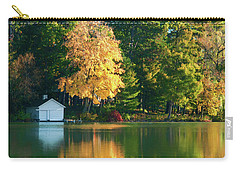Waupaca Chain Boathouse Carry-all Pouch by Trey Foerster