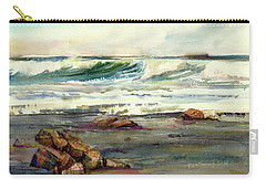 Wave Action Carry-all Pouch by P Anthony Visco
