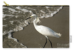 Wave And Snowy Carry-all Pouch