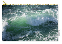 Wave At Montana De Oro Carry-all Pouch