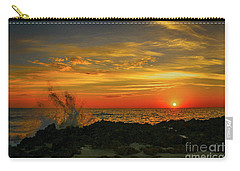Wave Break Sunrise Carry-all Pouch