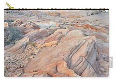 Wave Of Sandstone In Valley Of Fire Carry-all Pouch