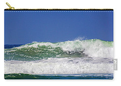 Wave Rolling To The Beach Carry-all Pouch