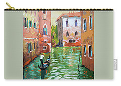 Wave Under The Oars Of The Gondola. Carry-all Pouch