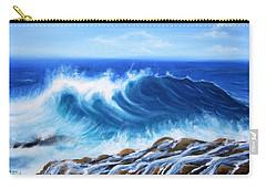 Wave Carry-all Pouch by Vesna Martinjak