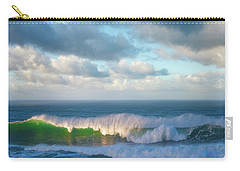 Carry-all Pouch featuring the photograph Wave Length by Darren White