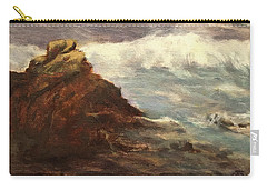 Waves At Dusk Carry-all Pouch