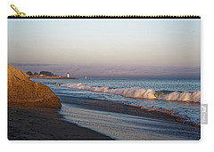 Waves At Santa Cruz Carry-all Pouch