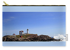 Waves At The Nubble Carry-all Pouch