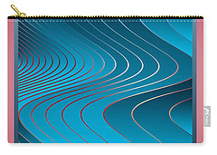 Waves Carry-all Pouch by Leo Symon