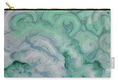 Carry-all Pouch featuring the painting Waves by Michele Myers