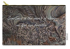 Waves Of Change Carry-all Pouch
