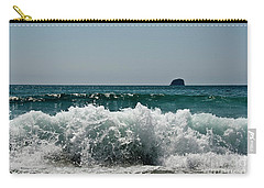 Waves Of Pacific Ocean. Coromandel,new Zealand Carry-all Pouch