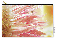 Waves Of Petals Carry-all Pouch by Steve Taylor
