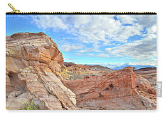 Waves Of Sandstone In Valley Of Fire Carry-all Pouch