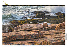 Waves Of Stone Carry-all Pouch