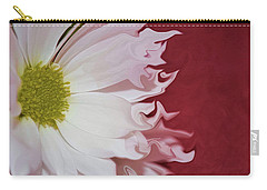 Waves Of White Carry-all Pouch