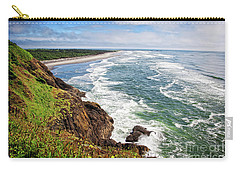 Waves On The Washington Coast Carry-all Pouch