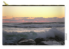 Waves Over The Rocks  5-3-15 Carry-all Pouch