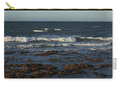 Waves Rolling Ashore Carry-all Pouch
