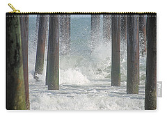 Waves Under The Pier Carry-all Pouch