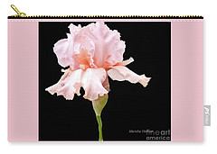Wavy Pink Iris Ll Carry-all Pouch