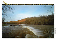Wavy River Carry-all Pouch