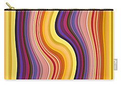 Wavy Stripes 1 Carry-all Pouch