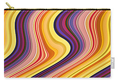 Wavy Stripes 2 Carry-all Pouch